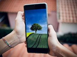 smartphone in apa